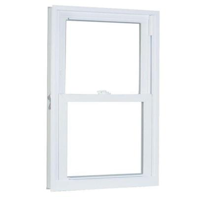 27.75 in. x 45.25 in. 70 Series Pro Double Hung White Vinyl Window with Buck Frame