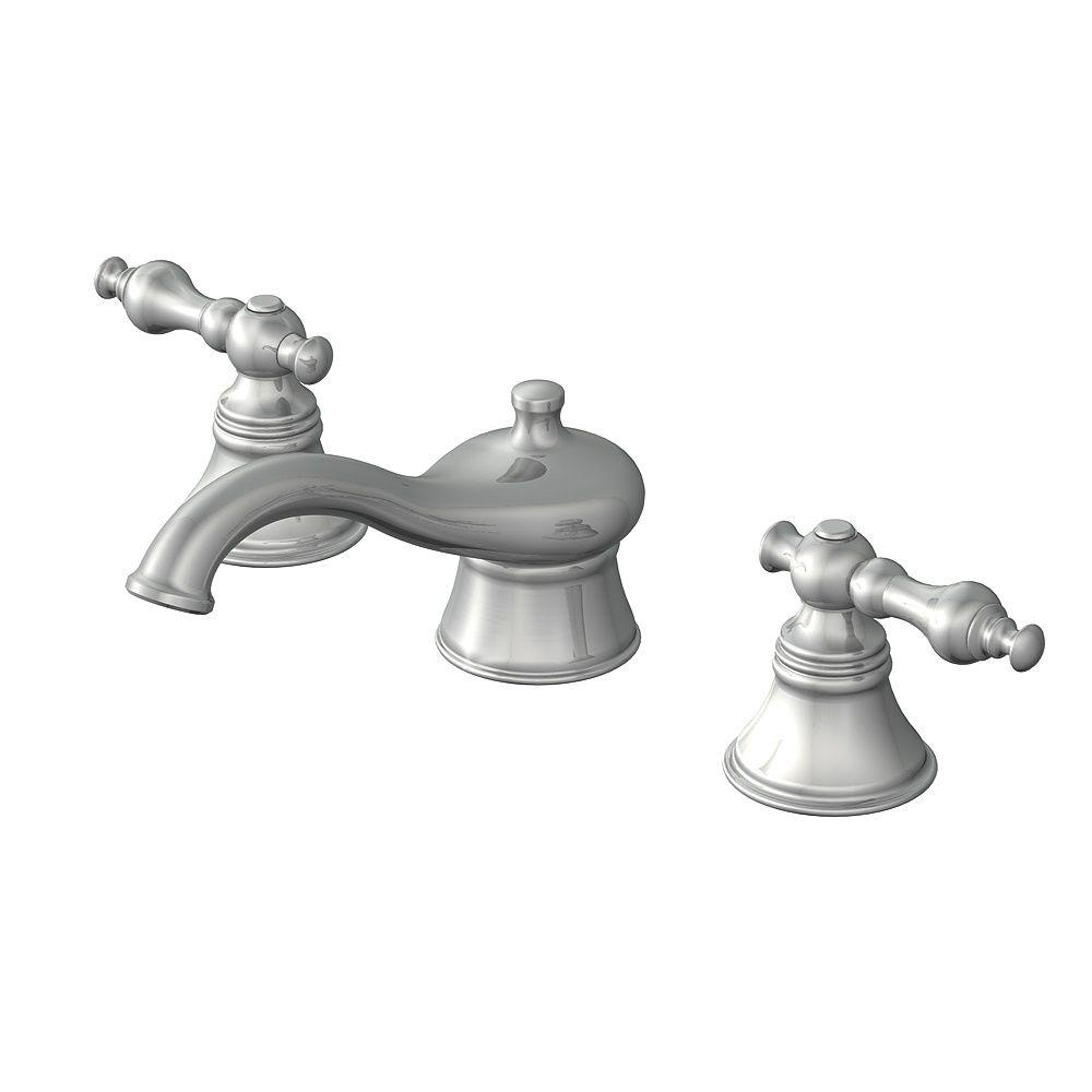 Pegasus Series 1200 2-Handles F style Spout Roman Tub Faucet without Hand Shower in Brushed Nickel-DISCONTINUED