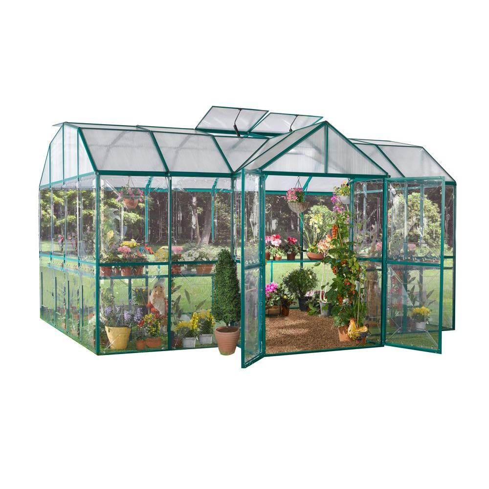 STC Royal Garden 10 ft. x 10 ft. Greenhouse-DISCONTINUED