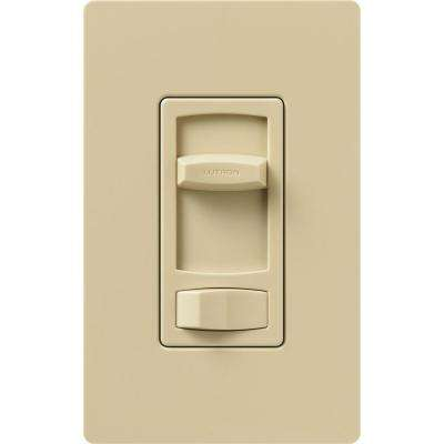Skylark Contour 1000-Watt/600 VA Single-Pole/3-Way Preset Dimmer - Ivory