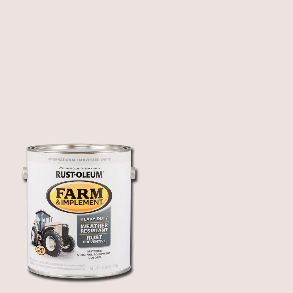 1 gal. Farm and Implement International Harvester White Paint (Case of