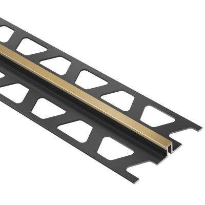 Dilex-BWS Light Beige 5/16 in. x 8 ft. 2-1/2 in. PVC Movement Joint Tile Edging Trim