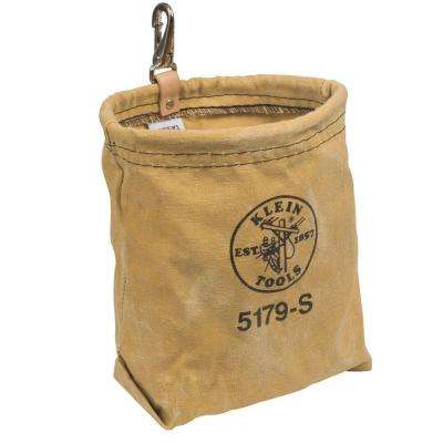Water-Repellant Canvas Pouch - Snap