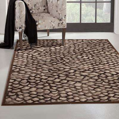 Sonoma Corliss Chocolate 5 ft. 3 in. x 7 ft. 6 in. Area Rug