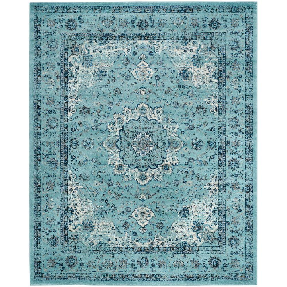 Safavieh Evoke Light Blue 8 Ft X 10 Area Rug