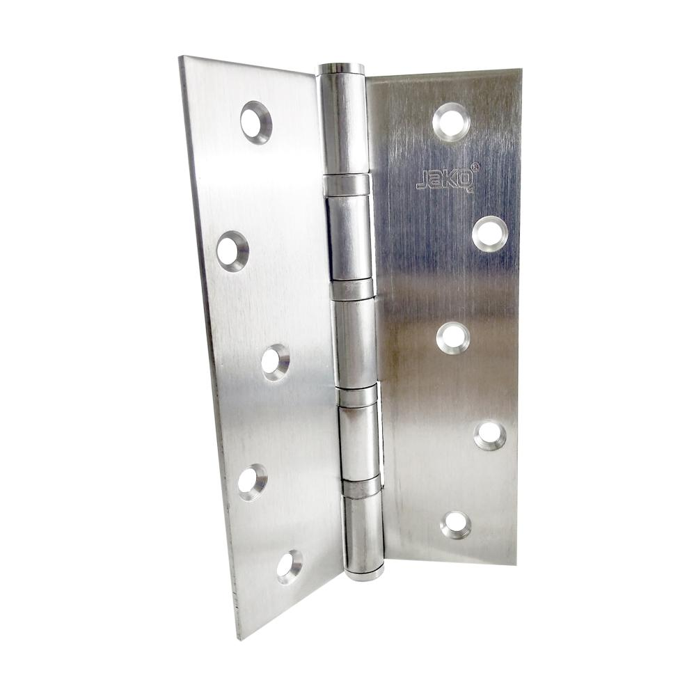 4 in. x 6 in. Stainless Steel Full Mortise Hinge with