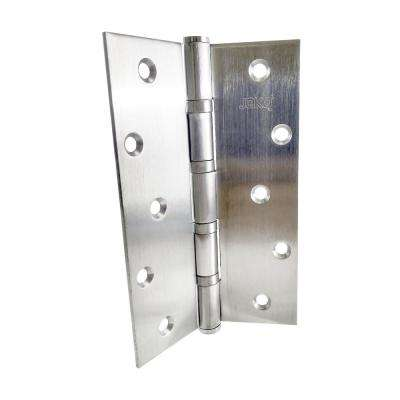 4 in. x 6 in. Stainless Steel Full Mortise Hinge with Ball Bearings