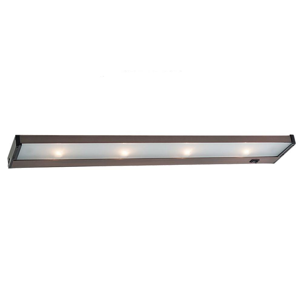 Sea gull lighting ambiance 4 light 120 volt self contained for Xenon task lighting under cabinet