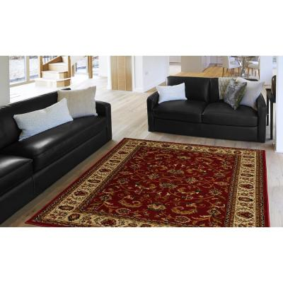 Red 5 X 7 Area Rugs The
