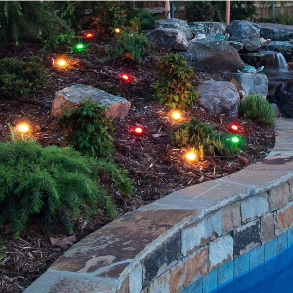 Enbrighten Black Color Changing Outdoor