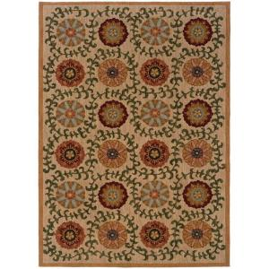 Home Decorators Collection Mola Beige 7 ft. 8 inch x 10 ft. 10 inch Area Rug by Home Decorators Collection