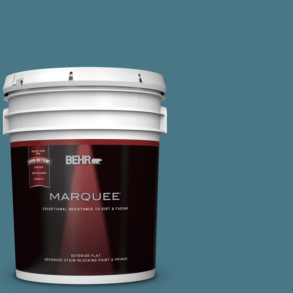 BEHR MARQUEE 5-gal. #PPU13-3 Catalina Coast Flat Exterior Paint