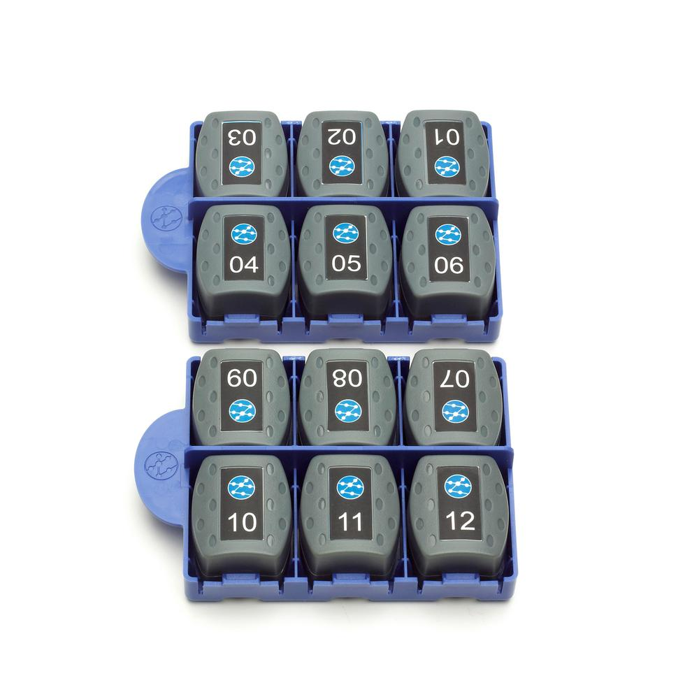 VDV II Accessory RJ45 Remote Adapters (12-Pack)