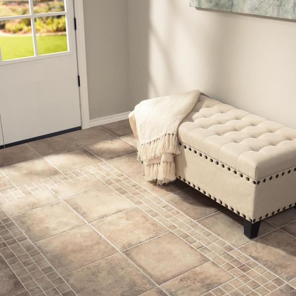 Marazzi Studio Life Bronx 12 In X 12 In Porcelain Floor And Wall Tile 14 55 Sq Ft Case Sl461212hd1p6 The Home Depot
