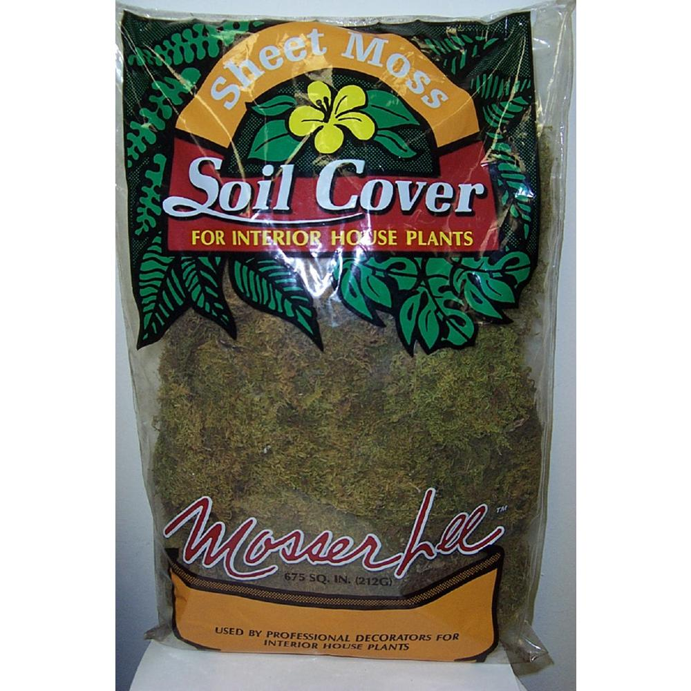 Mosser Lee 675 sq. in. Sheet Moss Soil Cover-ML0470 - The Home Depot