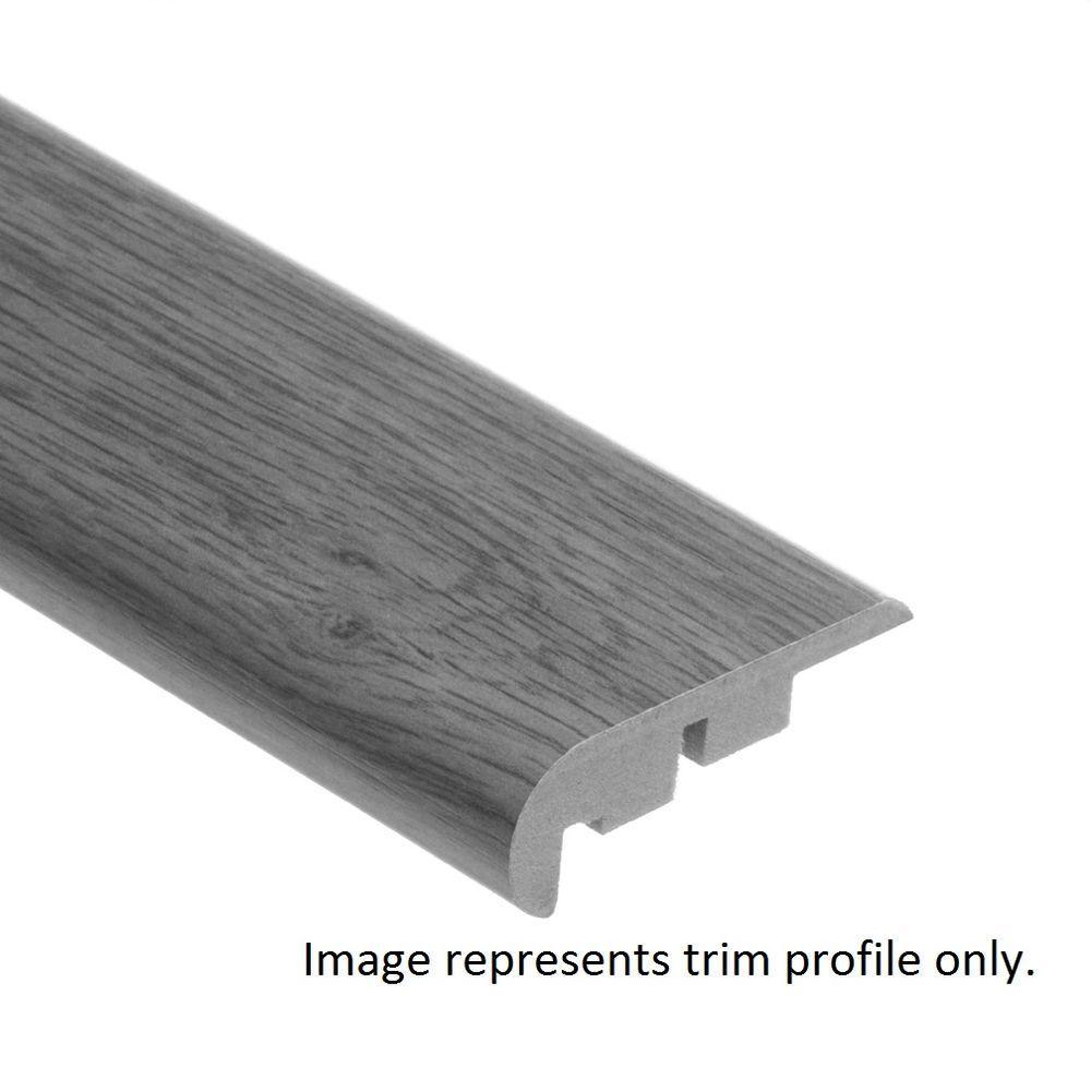Zamma Narragansett Renoir 3/4 in. Thick x 2-1/8 in. Wide x 94 in. Length Vinyl Stair Nose Molding