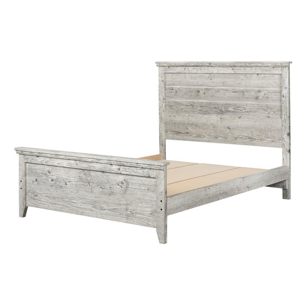 Lionel Seaside Pine Queen Bed