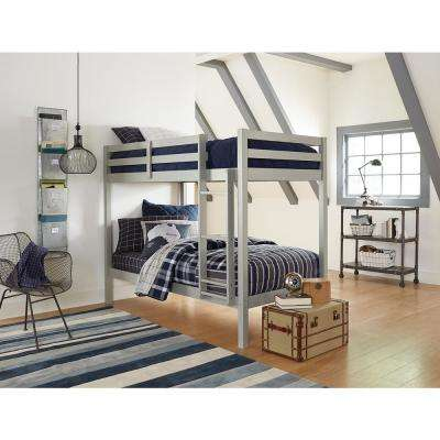 Twin Best Rated Bunk Bed Solid Wood Bunk Loft Beds Kids