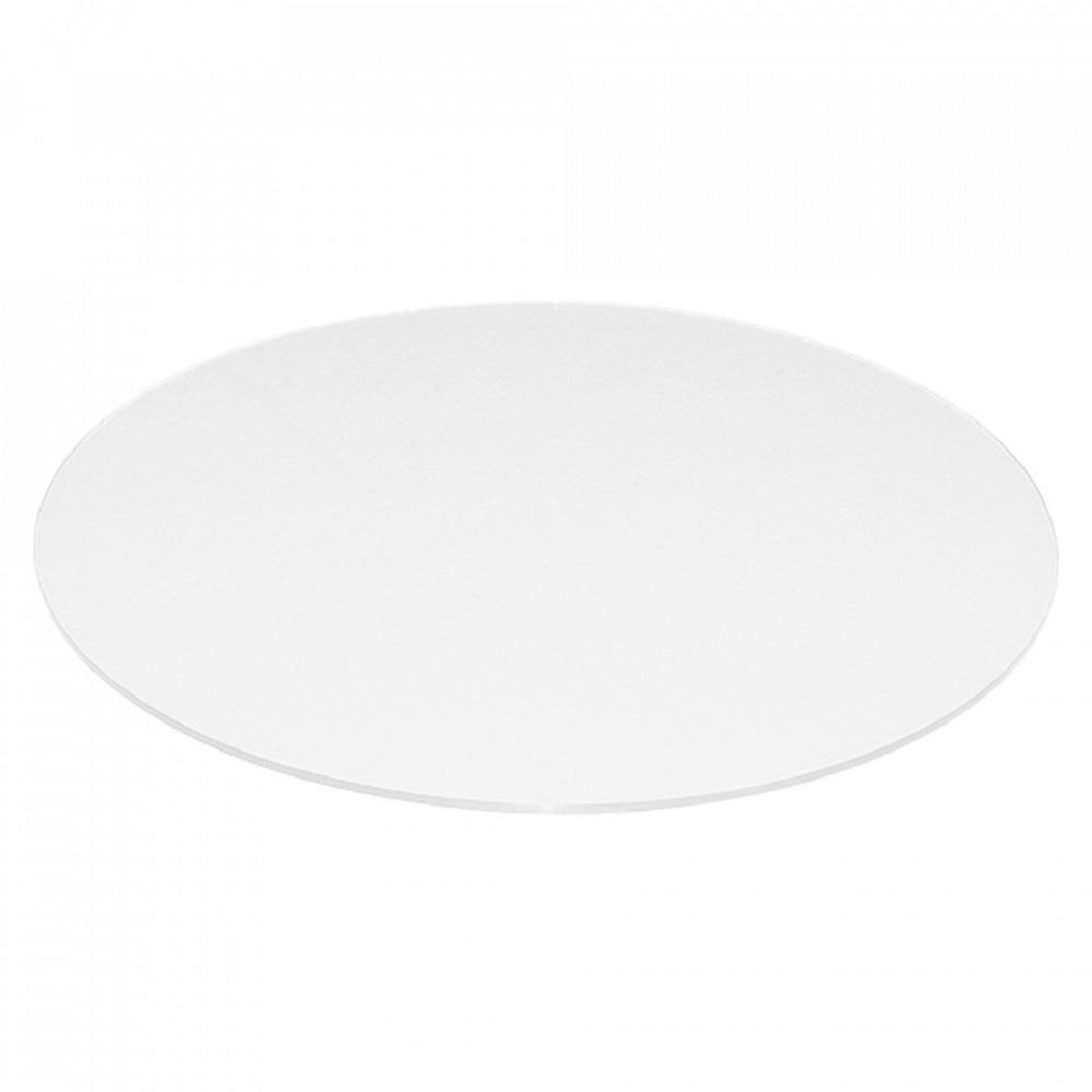 Fab Glass And Mirror 38 Inch Extra White Round Glass Table Top