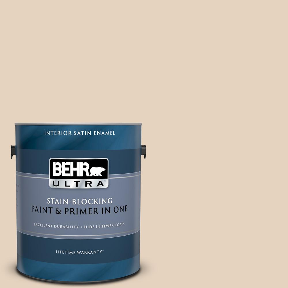 Behr Ultra 1 Gal Ppf 22 Inviting Veranda Satin Enamel Interior