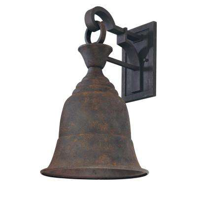 Liberty Centennial Rust Outdoor Wall Lantern Sconce