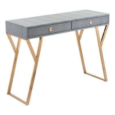 Asti Gray Console Table
