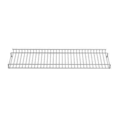 28.82 in. x 7.15 in.  Stainless Steel Warming Rack