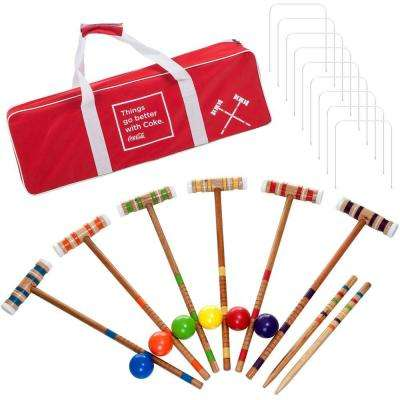 6-Player Croquet Set (24-Piece)