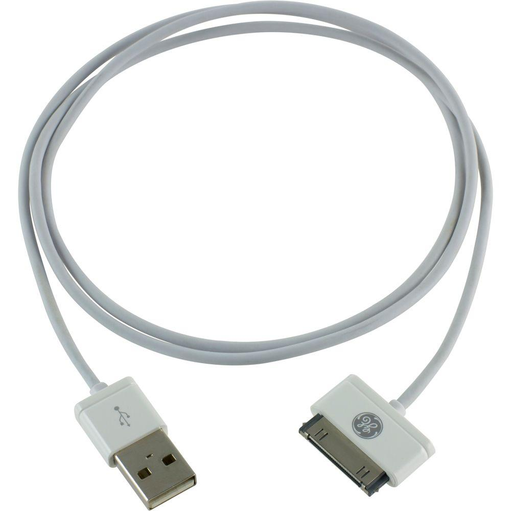 GE 3 ft. Straight Apple Cable