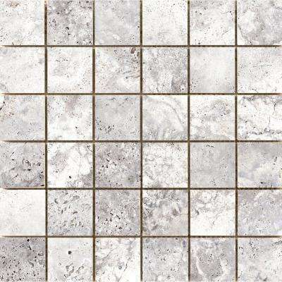Cabo Shore 12.99 in. x 13.03 in. x 9mm Ceramic Mesh-Mounted Mosaic Tile