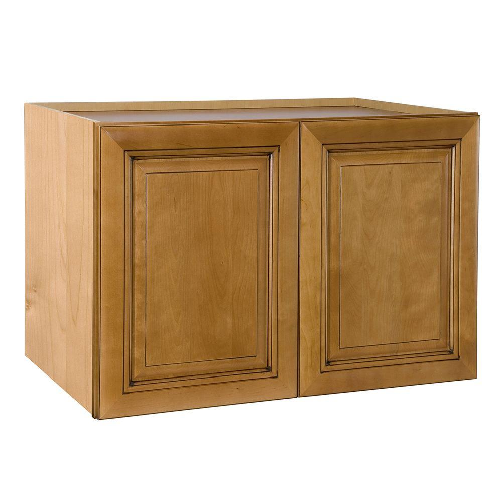 Home decorators collection lewiston assembled 33x15x24 in for Double kitchen cabinets