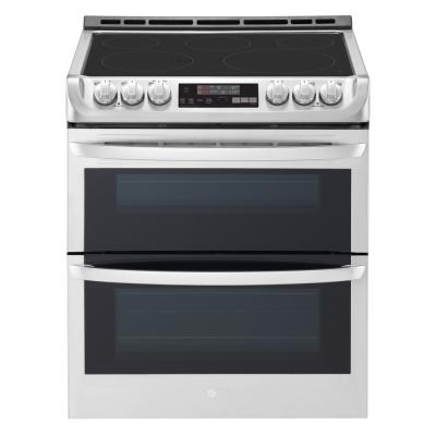 Lg Electronics 7 3 Cu Ft Double Oven Electric Range With Probake