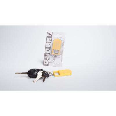 Microlight Smartphone Stand with Key Chain in Yellow Col, Bottle Opener, Microlight, Can Opener, Mobile Phone Stand