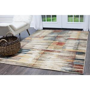 Home Dynamix Bazaar Vibe Multi 7 ft. 10 inch x 10 ft. 2 inch Indoor Area Rug by Home Dynamix