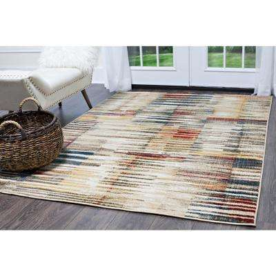 Bazaar Vibe Multi 8 ft. x 10 ft. Indoor Area Rug