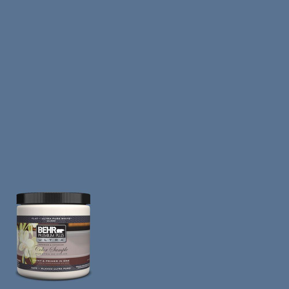 Ul240 19 Laguna Blue Matte Interior Exterior Paint And Primer In One Sample