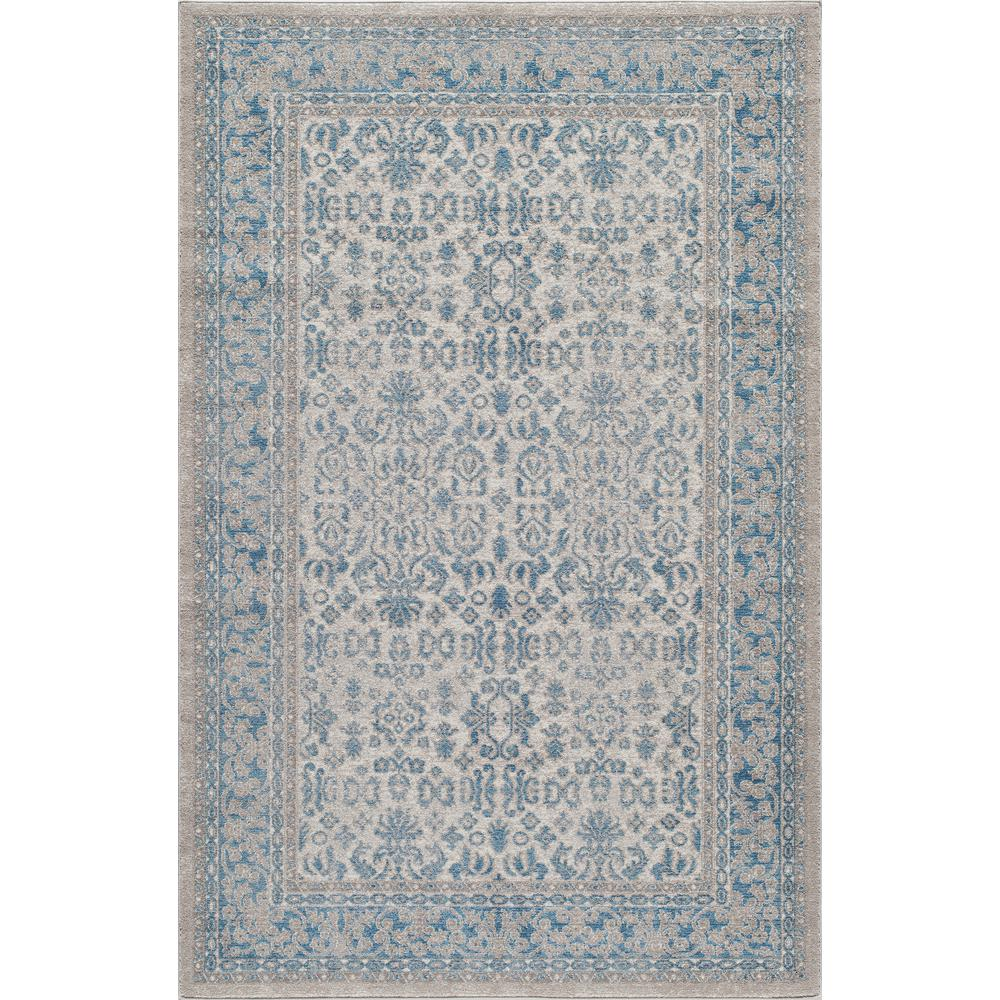 Kerman Ivory 8 Ft X 10 Indoor Area Rug