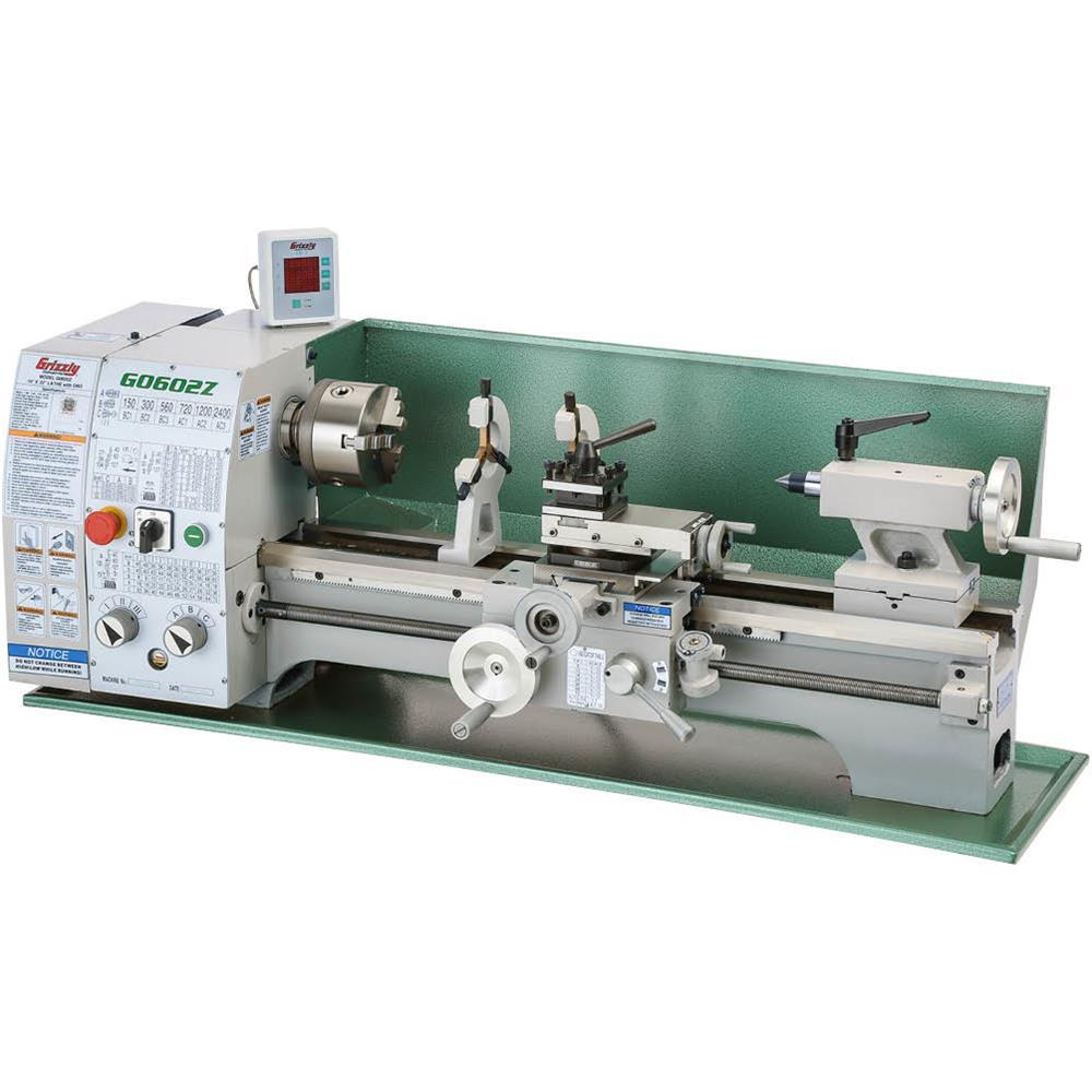 Grizzly Industrial 10 In. X 22 In. Benchtop Metal Lathe
