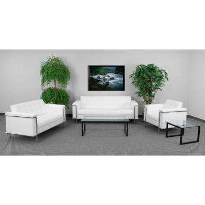 Hercules Lesley Series 3-Piece White Reception Set