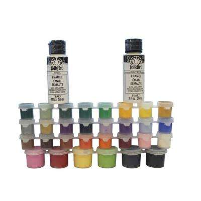32 Color Enamel Paint Set