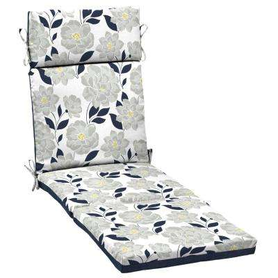 Flower Show Outdoor Chaise Lounge Cushion