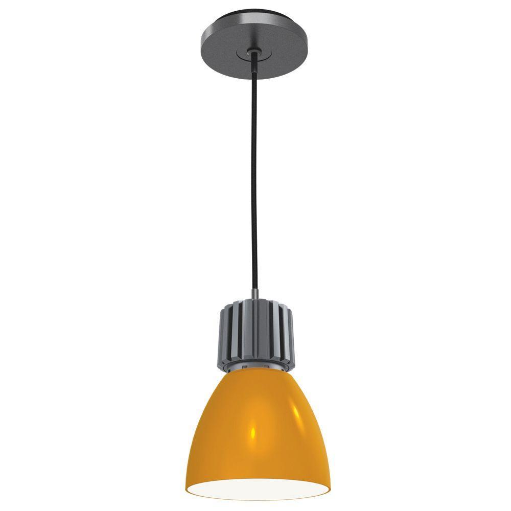 Architectural Led Track Lighting: JESCO Lighting Architectural 1-Light Amber Cased Glass
