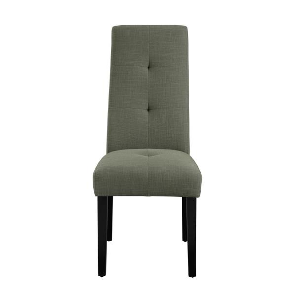 Dorel Living Karly Gray Parsons Chair FH7905-GR