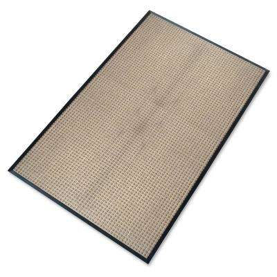 A1HC Rub-Poly Multi Utility Beige Indoor/Outdoor 48 in. x 72 in. Scraper Door Mat