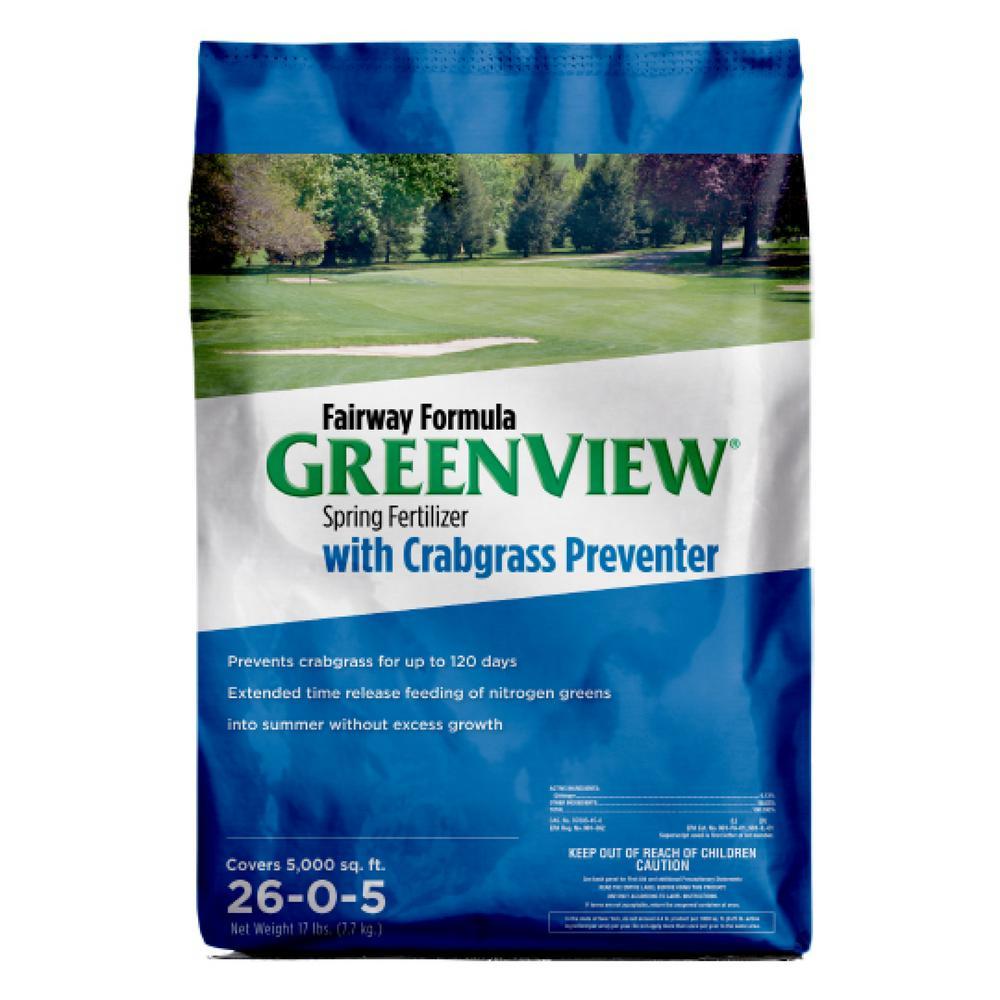 17 lbs. Fairway Formula Spring Fertilizer with Crabgrass Preventer