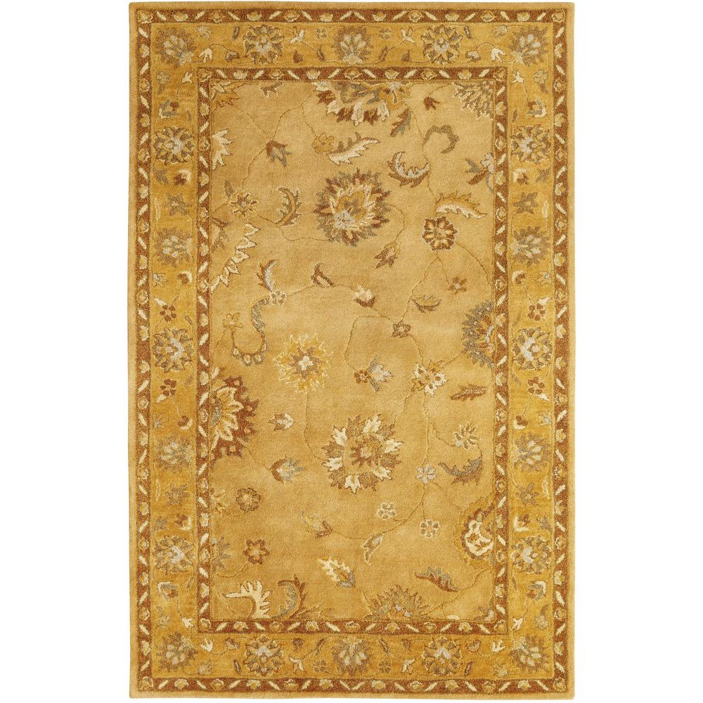 Dynamic Rugs Charisma Gold 8 Ft X 11 Ft Indoor Area Rug