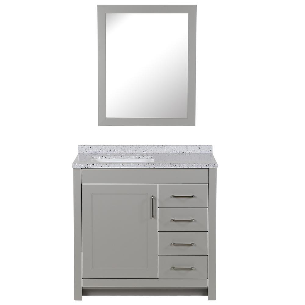 35-37 in. - Gray - $250 - $300 - Bathroom Vanities - Bath ...