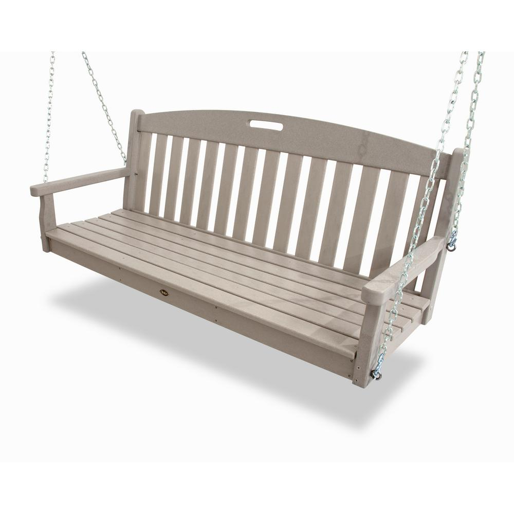 Trex Outdoor Furniture Yacht Club Sand Castle Patio Swing-TXS60SC ...