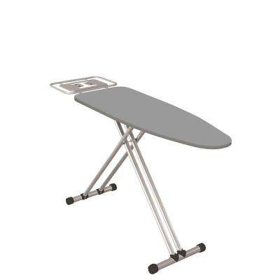 4-Leg Adjustable Foot Caps and Large Ironing Board