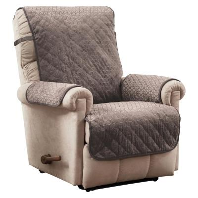 Prism Secure Fit Mocha Recliner Furniture Cover Slipcover